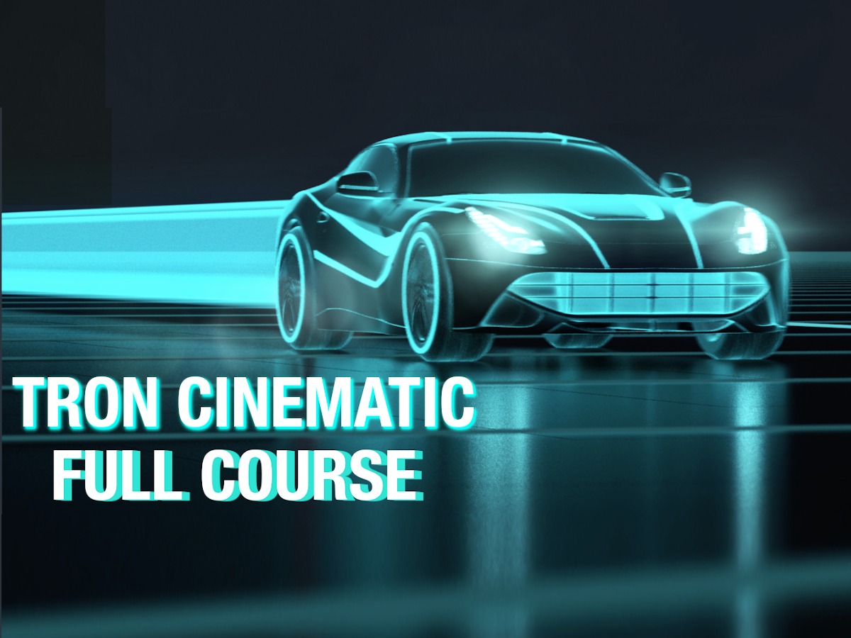 tron-style-cinematic-rendering-animation-in-Maya-and-arnold-course2
