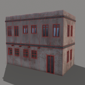 middle-eastern-old-clay-house-style1-pbr-3d-model-physically-based-rendering-wireframe-2