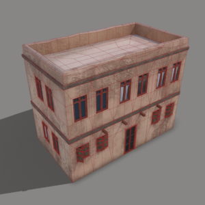 middle-eastern-old-clay-house-style1-pbr-3d-model-physically-based-rendering-wireframe-3
