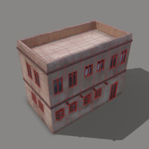 middle-eastern-old-clay-house-style1-pbr-3d-model-physically-based-rendering-wireframe-4