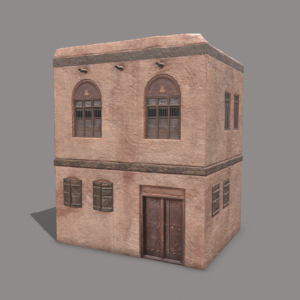 middle-eastern-old-clay-house-style2-pbr-3d-model-physically-based-rendering-1