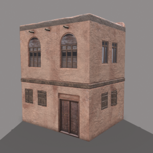 middle-eastern-old-clay-house-style2-pbr-3d-model-physically-based-rendering-2
