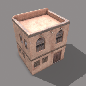 middle-eastern-old-clay-house-style2-pbr-3d-model-physically-based-rendering-4