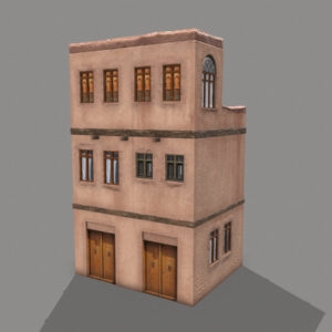 middle-eastern-old-clay-house-style3-pbr-3d-model-physically-based-rendering-2