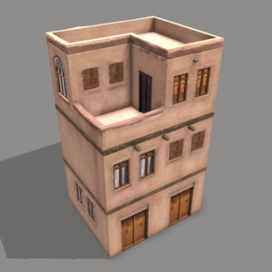 middle-eastern-old-clay-house-style3-pbr-3d-model-physically-based-rendering-3