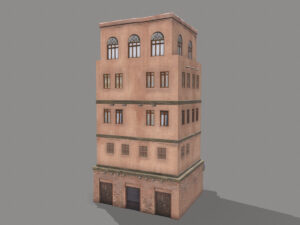 middle-eastern-old-clay-house-style4-pbr-3d-model-physically-based-rendering-2