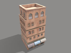 middle-eastern-old-clay-house-style4-pbr-3d-model-physically-based-rendering-3