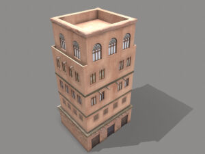 middle-eastern-old-clay-house-style4-pbr-3d-model-physically-based-rendering-4